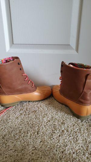 Flower rain boots for Sale in Mesa, AZ