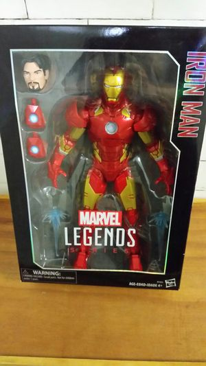 Marvel legends iron man 12 inch for Sale in Brooklyn, NY