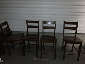 Pub table and chairs for Sale in Tewksbury, MA