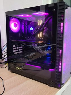 Gaming Computer With 1080 And Ryzen 3600 for Sale in Federal Way,  WA