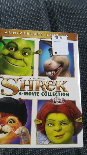 4 movie collection -shrek- for Sale in Sacramento, CA