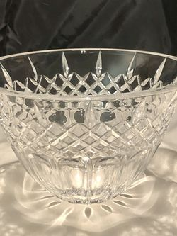 """Waterford Crystal : 8"""" Crystal bowl SHELTON for Sale in Raleigh,  NC"""