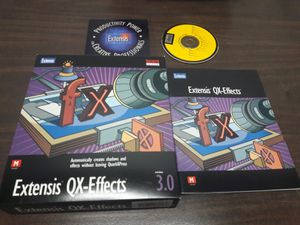 Extensis QX-Effects v 3.0 pack 3 pcs for Sale in Los Angeles, CA