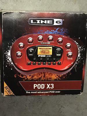 Line 6 Pod X3 guitar/bass/ vocal effects processor for Sale in Calabasas, CA