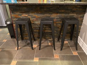 Bar stools (3) for Sale in Bedford Park, IL