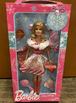 Target Happy Holidays Barbie for Sale in Douglasville, GA