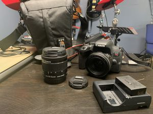 Canon T7i with 2 lenses (SERIOUS BUYERS ONLY) for Sale in Portland, OR