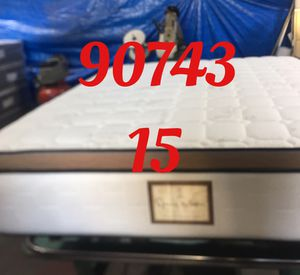 "12"" thick foam Encase 1 Sided Pillow Top mattress. Not rebuild. All new materials. Price includes tax and local delivery. Cash only. Twin Mattre for Sale in Seal Beach, CA"