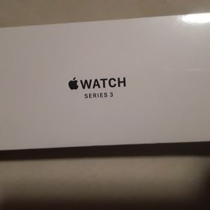 Brand New Sealed Apple Watch Series 3 42mm Case Sports Band Black for Sale in Addison, IL