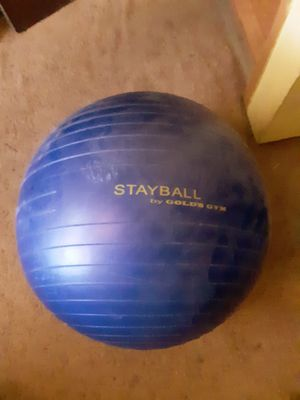 Exercise ball for Sale in Tucson, AZ