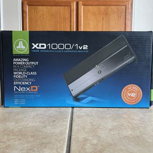 JL AUDIO XD 1000 AMP for Sale in San Diego, CA