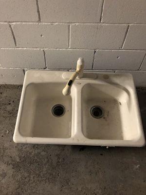 Cast iron sink for Sale in Detroit, MI