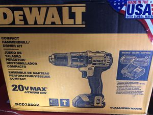 hammer drill with 2 batts and charger for Sale in Pacheco, CA