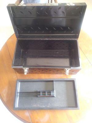 "Husky 20"" Tread Plate tool box 10.00 OBO for Sale in Vienna, VA"
