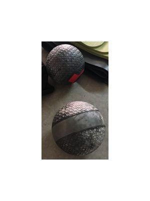 Medicine Balls - 12/8lb for Sale in Phoenix, AZ