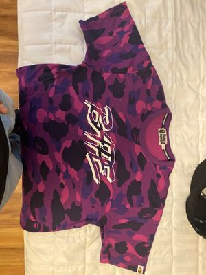 Bape shirt size large new bearly ever worn for Sale in Federal Way, WA