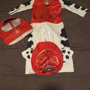 Paw Patrol Marshall Pretend Play Costume Small 2T-4T for Sale in Capitol Heights, MD