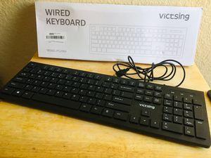 Wired keyboard for Sale in Riverside, CA