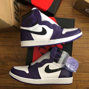 Jordan 1 Court Purple for Sale in Miami, FL