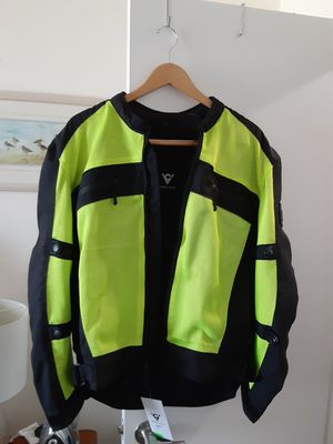 SIZE L BRAND NEW MOTORCYCLE JACKET for Sale in Miami Beach, FL