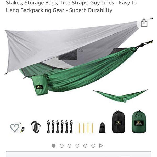 Hammock Set Camping - Brand New