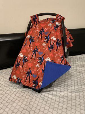 Superman car seat canopy for Sale in Rosemead, CA
