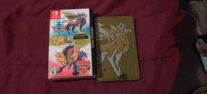 Nintendo switch and dual pokemon game for sell for Sale in Biloxi, MS