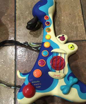 Woofer from B. Toys: Toddler's Electronic Guitar for Sale in Las Vegas, NV