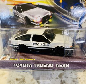Initial D : Toyota Trueno AE86 | 1:64 Scale Diecast Collection | Jada Toys for Sale in Seattle, WA