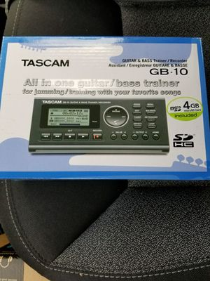 TascamGB-10 Guitar/Bass Trainer/Recorder for Sale in Lakewood, CO