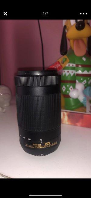 nikon lense (negotiable) for Sale in Artesia, CA