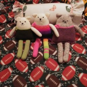 $75 For All Three Or $30 Each. Beautiful Crocheted Dolls for Sale in Terrebonne, OR