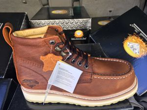 Sapato de trabajo work Boots from mexico echos en mexico for Sale in Perris, CA