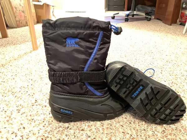 Kids All Weather Rain Snow Boots Size 13