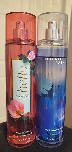 85% Full Bath And Body Works Fine Fragrance Mist $8.00 Each for Sale in Gardena, CA