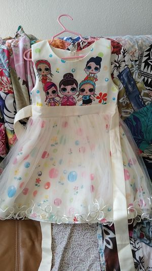 LOL Surprise dress 5T/6T for Sale in Los Angeles, CA