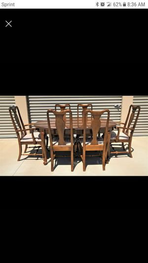 Ethan Allen Table and Chairs for Sale in Murfreesboro, TN
