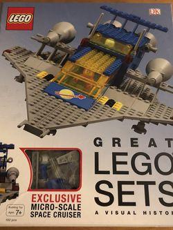 Great Lego Sets: A Visual History, Lego History Book & Lego Set for Sale in Auburn,  WA