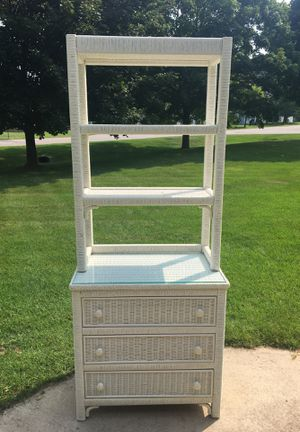 Dresser with shelving for Sale in Kingsley, MI