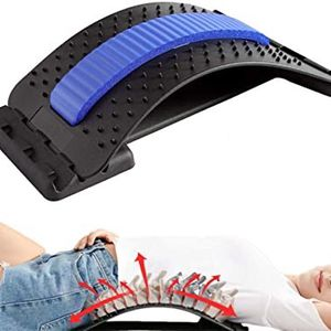 New Back Stretcher - Lower and Upper Back Pain Relief, Lumbar Stretching Device,Posture Corrector - Back Support for Office Chair | Get Muscle Tension for Sale in Chino, CA