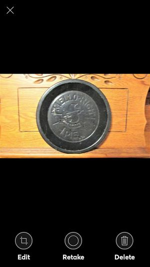 """Vintage Mello-Rich Metal 9"""" Pie Pan Mrs. Smith's Kitchen Country Decor for Sale in Lynchburg, VA"""
