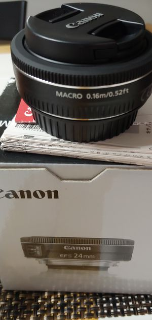 Canon lense efs24 for Sale in Germantown, MD