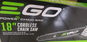 Brand New 18 Inch Ego Electric Chainsaw for Sale in West Haven, CT
