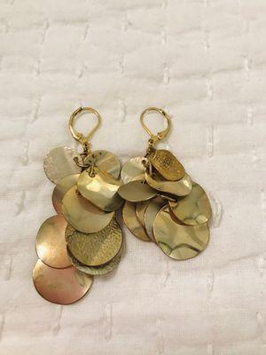 Gold dangle earrings for Sale in Smithfield, NC