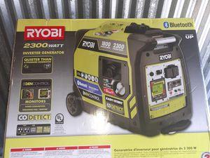 new ryobi 2300 watt inverter generator with bluetooth for Sale in Hoffman Estates, IL
