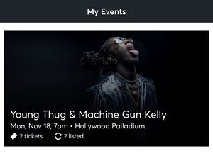 Young Thug & Machine Gun Kelly for Sale in Irvine, CA
