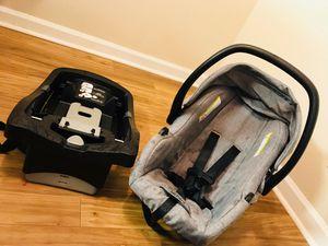 Urbini heather Grey baby Car seat+ booster for Sale in Peachtree Corners, GA