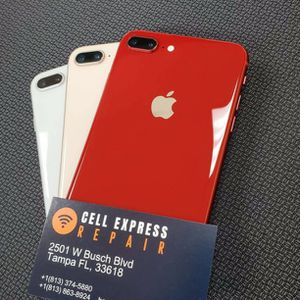Iphone 8 Plus Unlocked Like New Condition With 30 Days Warranty for Sale in Tampa, FL