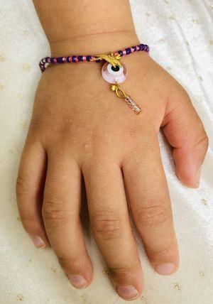 Little girls pink purple bracelet for Sale in Burlington, MA