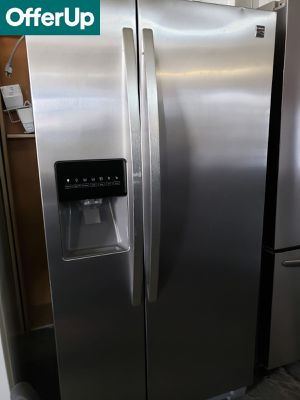 💥💥💥Kenmore 33 in. Wide Refrigerator Fridge Stainless Steel #1166💥💥💥 for Sale in Anaheim, CA